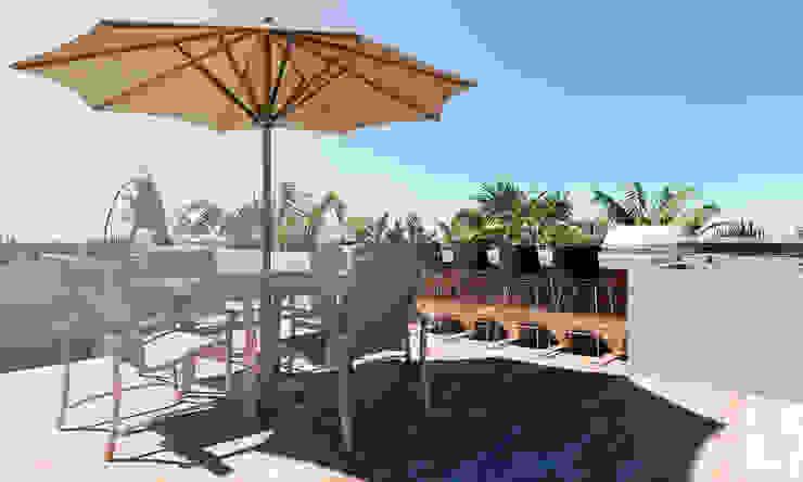 Sueños del mar Balcones y terrazas modernos de CODIAN CONSTRUCTORA Moderno