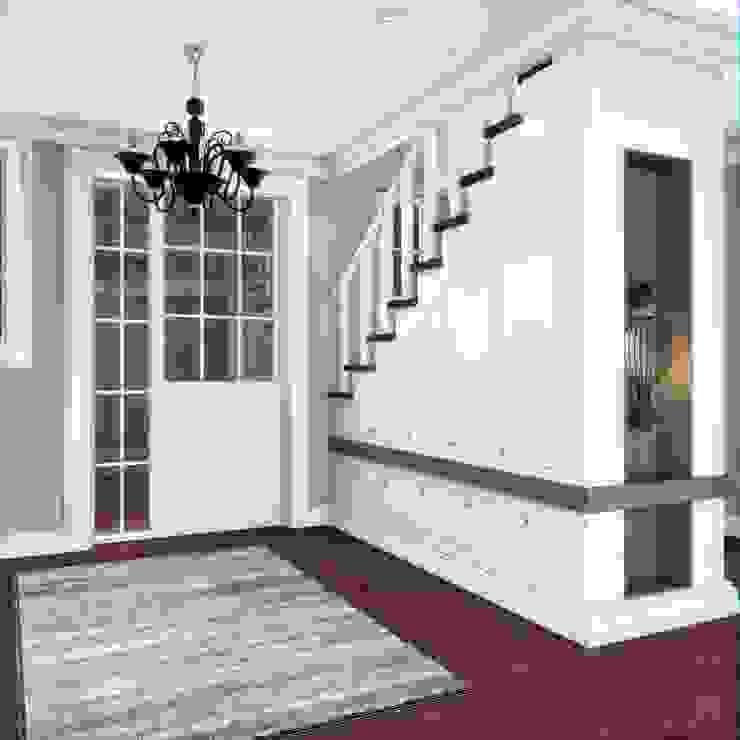 Yunus Emre | Interior Design Corredores, halls e escadas modernos por VERO CONCEPT MİMARLIK Moderno