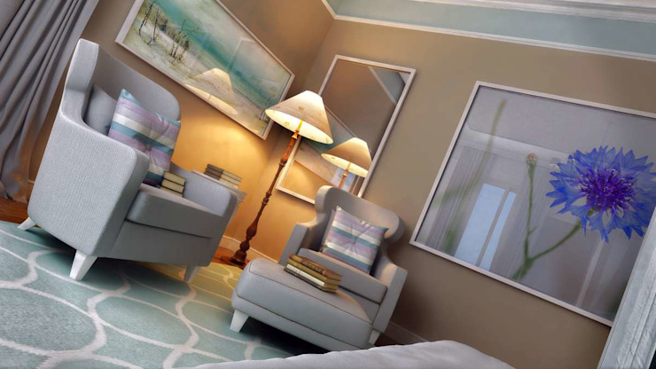 Yunus Emre | Interior Design Modern style bedroom by VERO CONCEPT MİMARLIK Modern