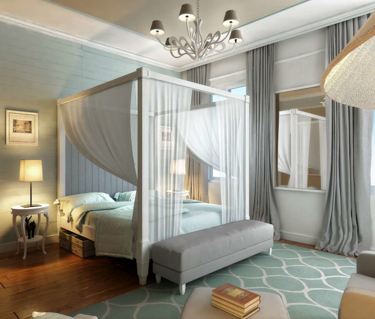 Yunus Emre | Interior Design Quartos modernos por VERO CONCEPT MİMARLIK Moderno