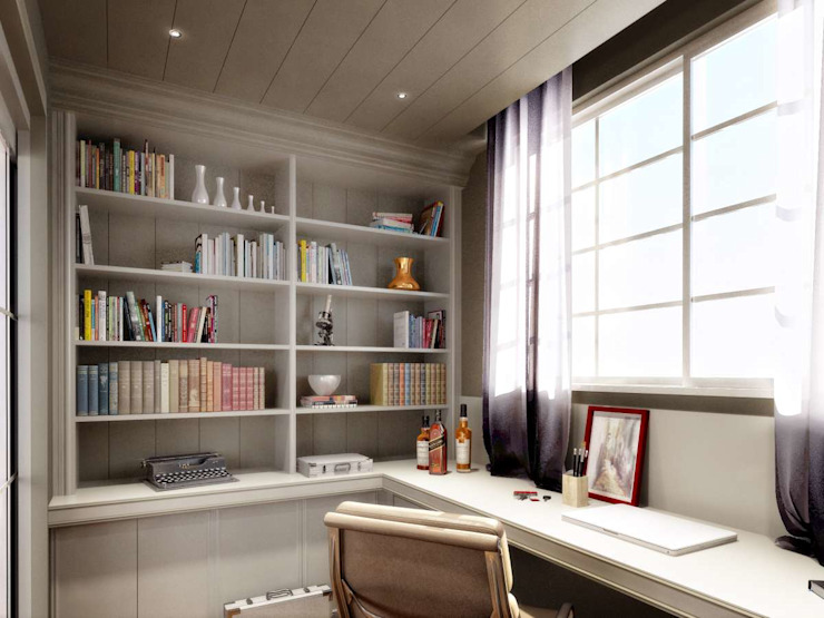 Yunus Emre | Interior Design Modern Study Room and Home Office by VERO CONCEPT MİMARLIK Modern