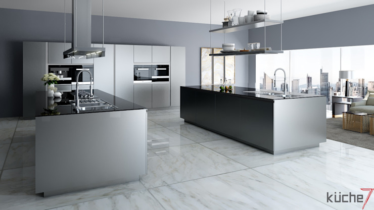 Luxury kitchens that outclasses all other kitchens you've seen:  Kitchen by Küche7
