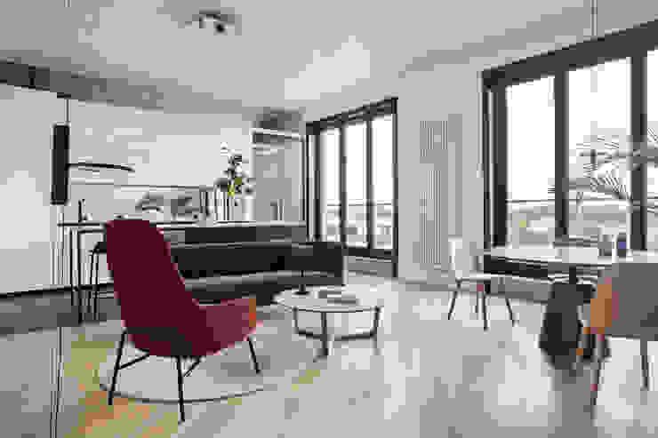 Studio Laas Minimalist living room