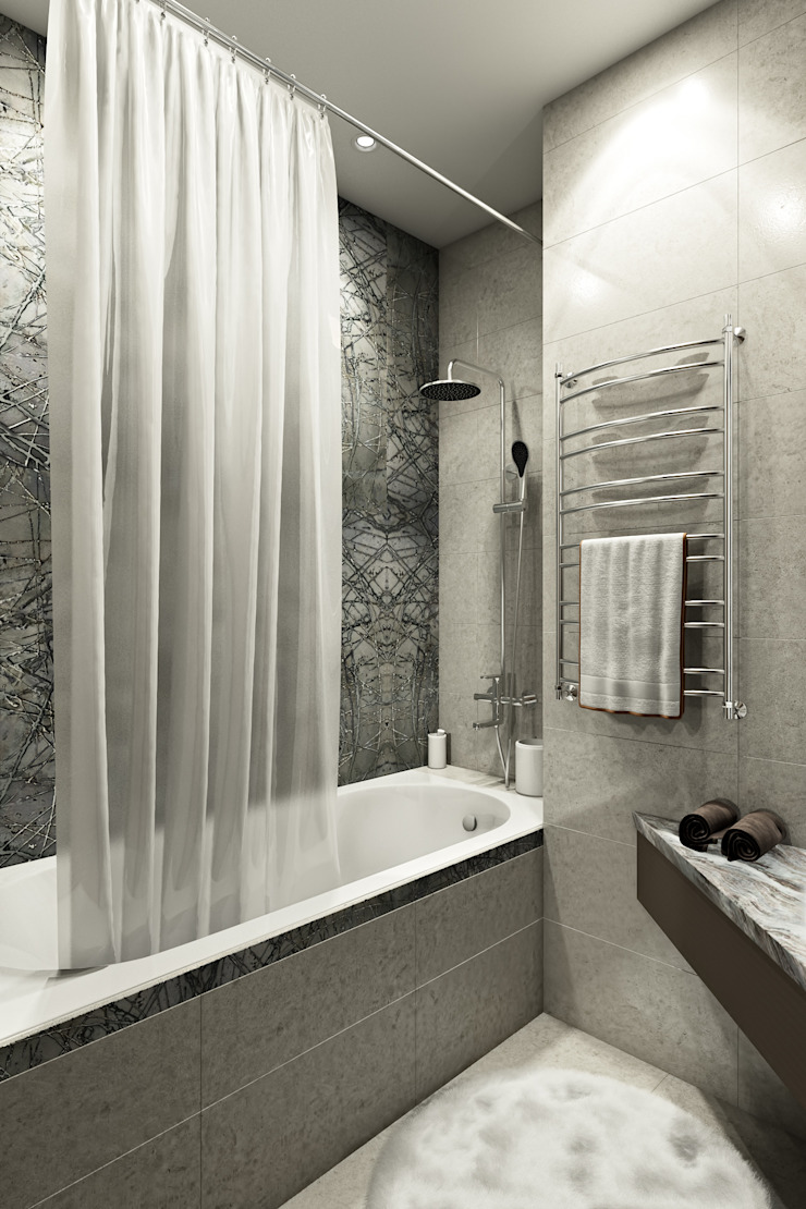 Zibellino.Design Eclectic style bathroom