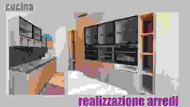 Cucina - realizzazione arredi: Cucina in stile  di officinaleonardo, Moderno