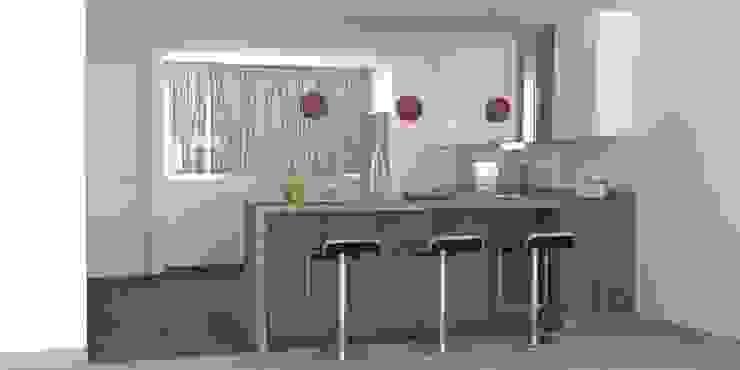 diseños cocinas de hipnos construcciones