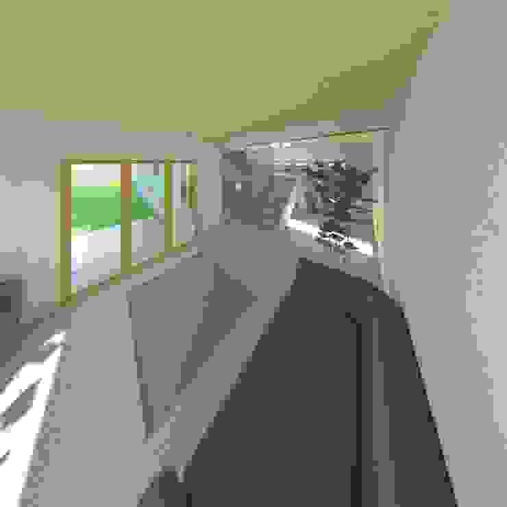 Sala de estar Livings de estilo mediterráneo de Constructora Alonso Spa Mediterráneo