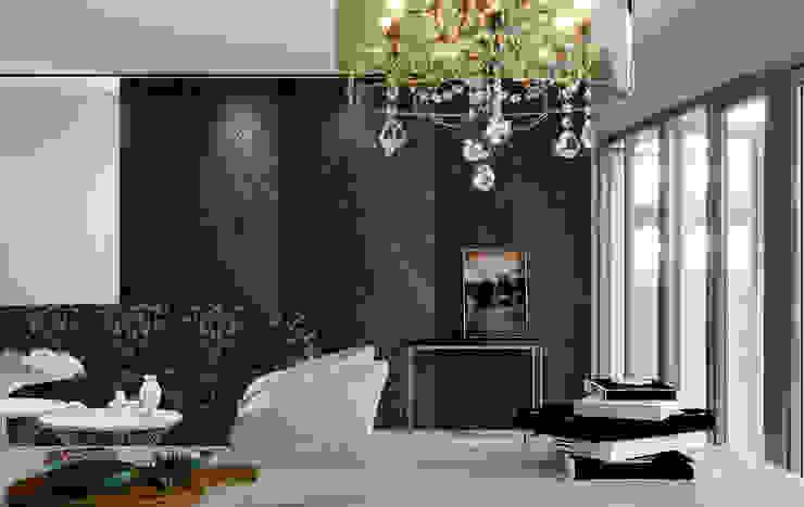 Modern Living Room by Swan Studio Modern