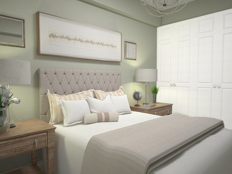 1 Bedroom Condo in Manila Modern style bedroom by CIANO DESIGN CONCEPTS Modern