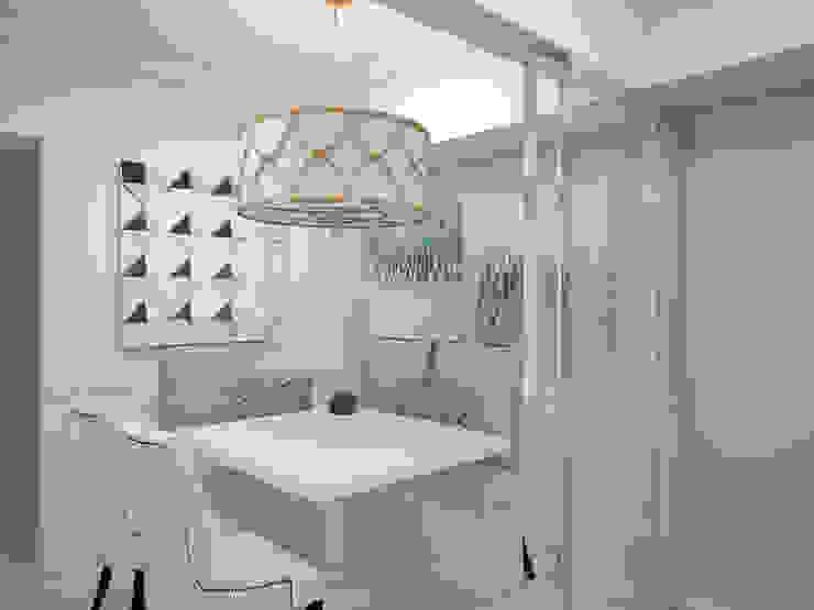 1 Bedroom Condo in Manila CIANO DESIGN CONCEPTS Modern dining room