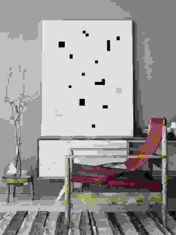 NIZU 藝術品照片與畫作 紙 Black