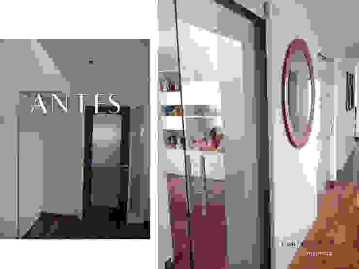 Pasillos y recibidores de estilo  por Fabiana Ordoqui  Arquitectura y Diseño.   Rosario | Funes |Roldán