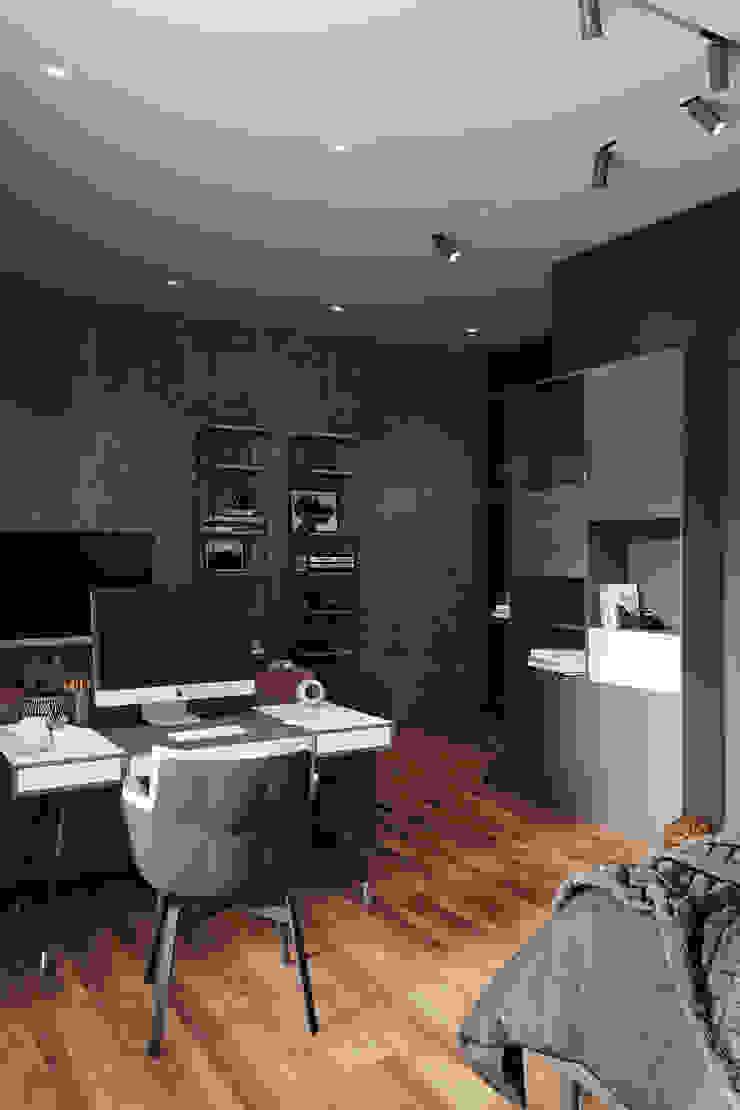 Chambre d'enfant minimaliste par Студия архитектуры и дизайна Дарьи Ельниковой Minimaliste