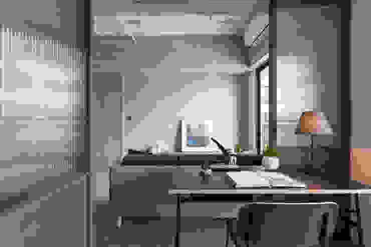 寓子設計의  서재 & 사무실
