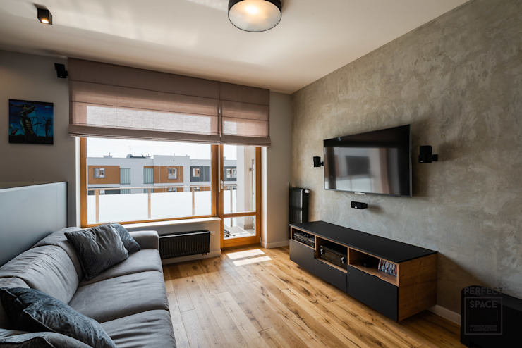 Perfect Space Ruang Keluarga Minimalis
