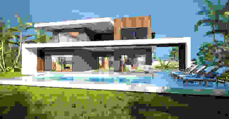 Akar İnşaat Villa Modern Evler ANTE MİMARLIK Modern