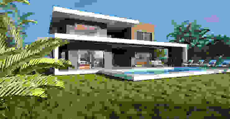 Akar İnşaat Villa ANTE MİMARLIK Modern