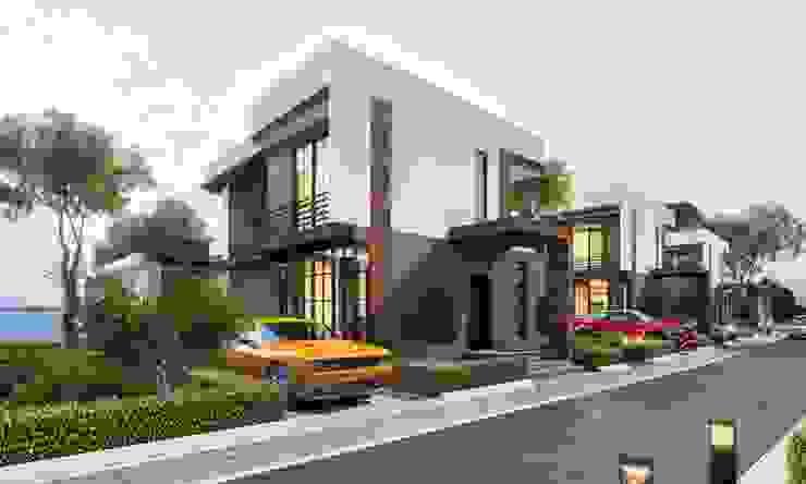 Deniz Kent Villaları Modern Garaj / Hangar ANTE MİMARLIK Modern