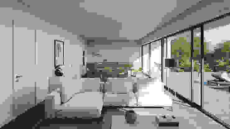 Soggiorno minimalista di FMO ARCHITECTURE Minimalista