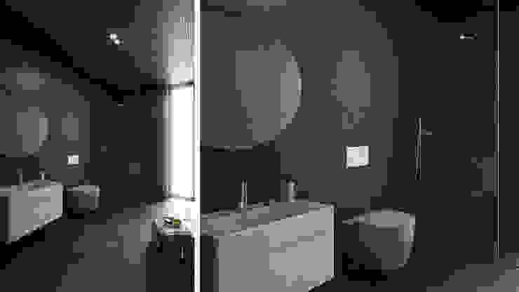 Baños de estilo minimalista de FMO ARCHITECTURE Minimalista Cerámico