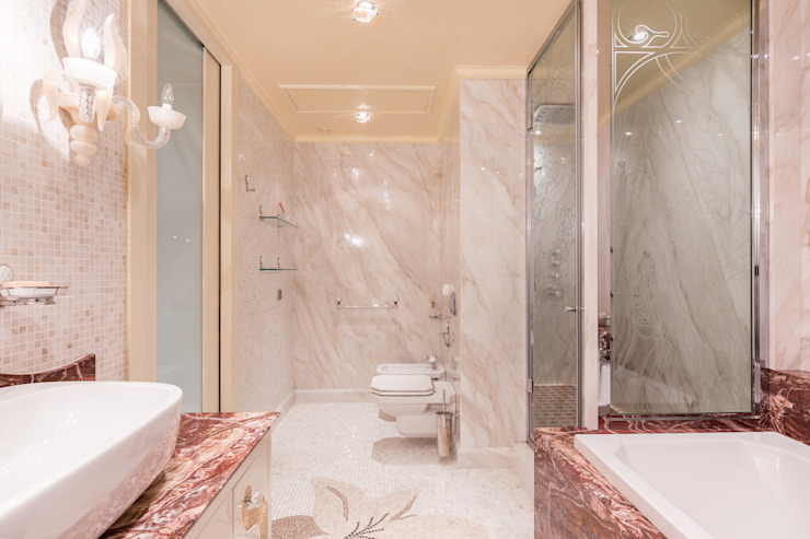 Carlos Bujan Fotografía Eclectic style bathroom