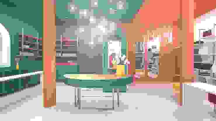 Concept Store donna serenascaioli_progettidinterni Spazi commerciali moderni
