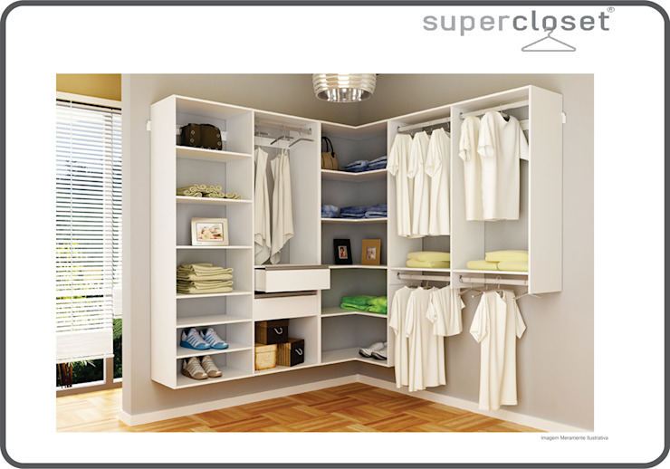 de SuperClosets Moderno Tablero DM