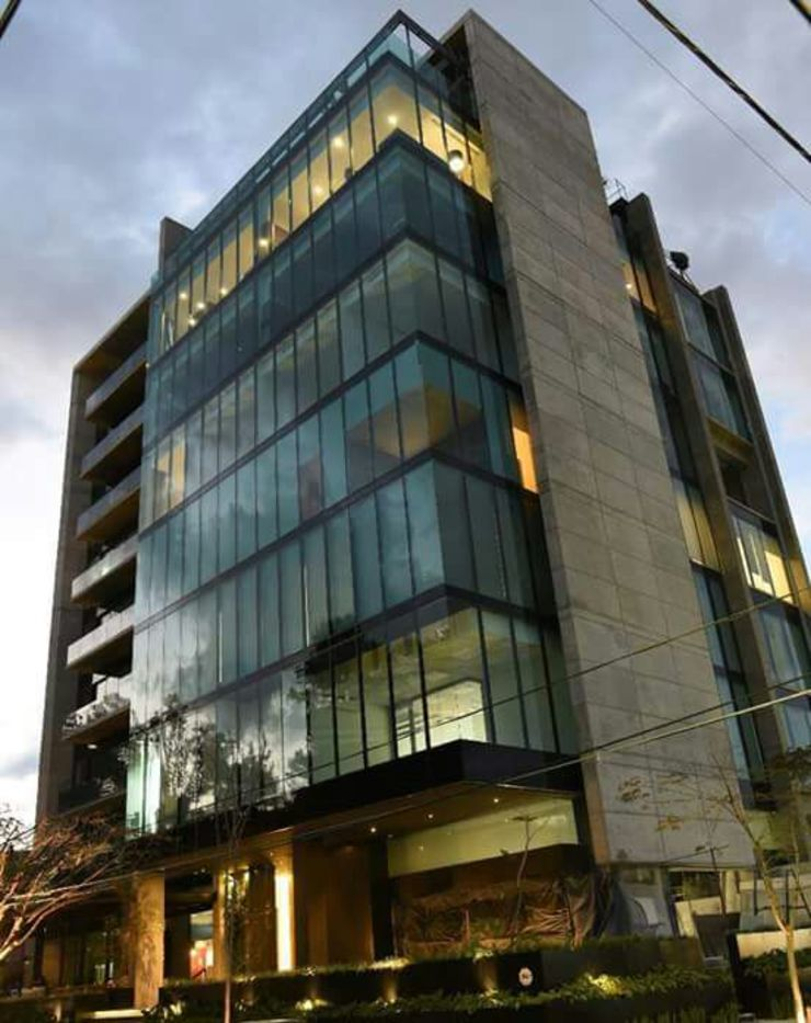 vertikal Office buildings Glass