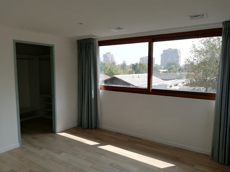 Habitación Principal Dormitorios de estilo mediterráneo de Remodelaciones Santiago Eirl Mediterráneo