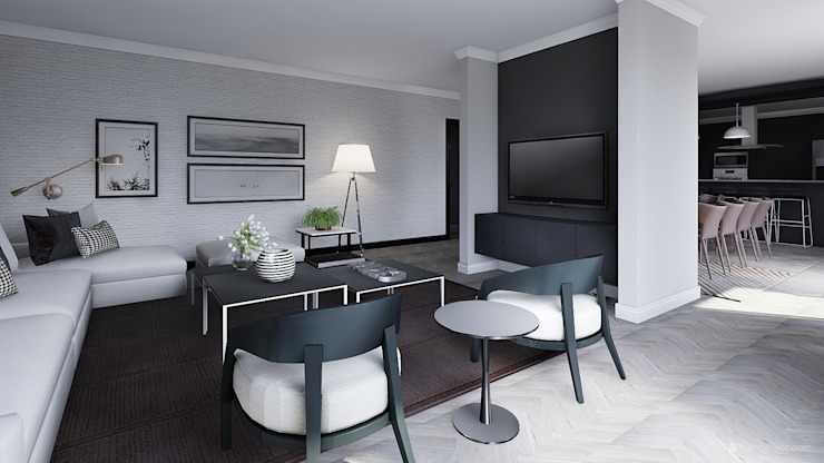 Living Room Modern living room by CKW Lifestyle Associates PTY Ltd Modern