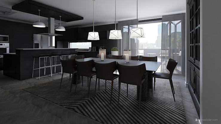 Dining Room Modern dining room by CKW Lifestyle Associates PTY Ltd Modern