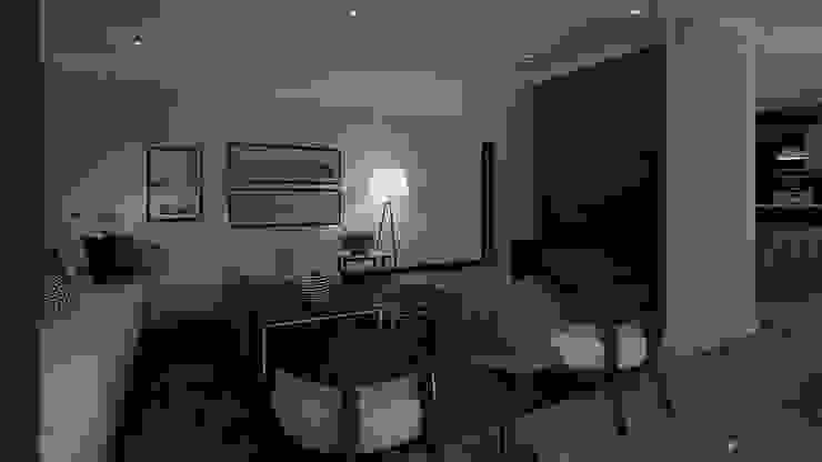 Penthouse Cole Modern living room by CKW Lifestyle Associates PTY Ltd Modern