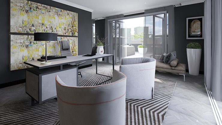 Study/ Home Office by CKW Lifestyle Associates PTY Ltd Modern