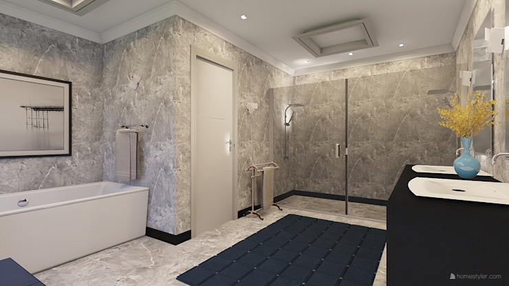 Master Bathroom Modern bathroom by CKW Lifestyle Associates PTY Ltd Modern