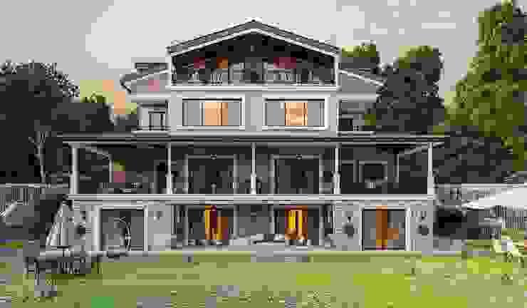 Дома в стиле модерн от ANTE MİMARLIK Модерн