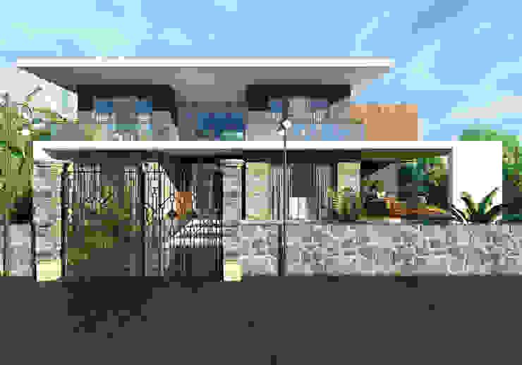 Villa in stile  di ANTE MİMARLIK , Moderno