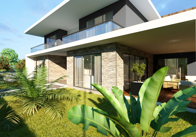 Oruç Villa Modern Evler ANTE MİMARLIK Modern