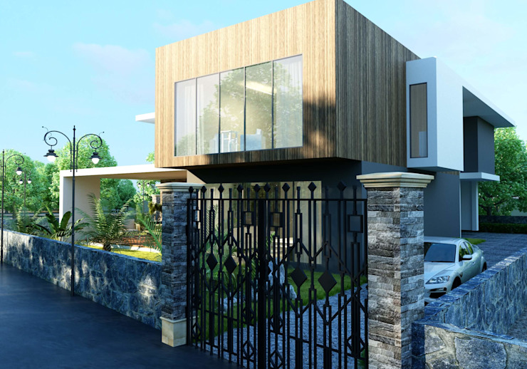 Oruç Villa ANTE MİMARLIK Modern