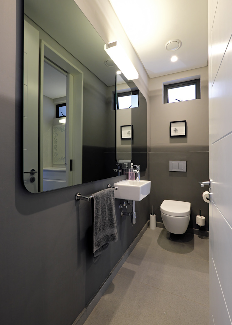 KMMA architects Modern Bathroom