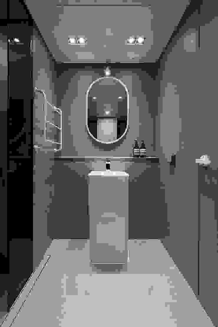 강동구 고덕 아이파크 54py 모던스타일 욕실 by 림디자인 모던