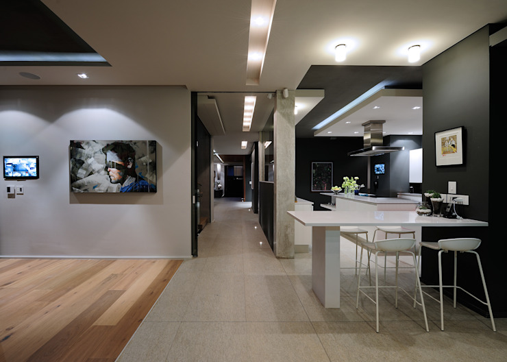 KMMA architects Built-in kitchens