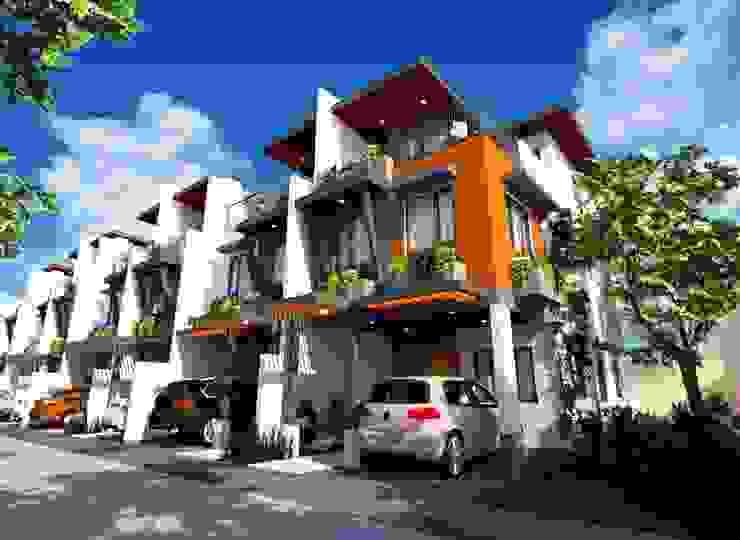 7-Unit Townhouse Development by Structura Architects Modern