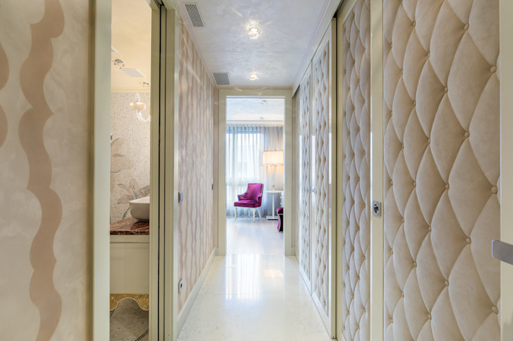 Carlos Bujan Fotografía Modern Corridor, Hallway and Staircase