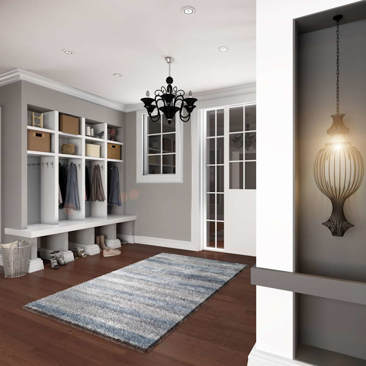 Yunus Emre | Interior Design VERO CONCEPT MİMARLIK Corredores, halls e escadas modernos