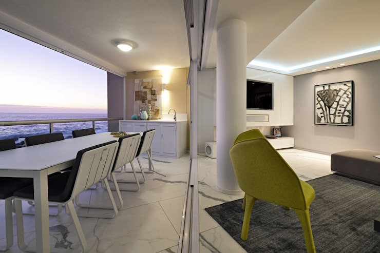 Penthouse The President Bantry Bay by KMMA architects Modern