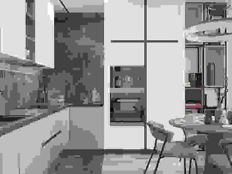 Kitchen by Дизайнер интерьеров, Minimalist