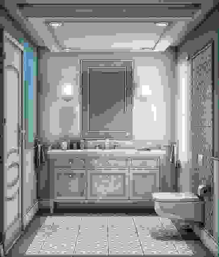 Yunus Emre | Interior Design Banheiros modernos por VERO CONCEPT MİMARLIK Moderno