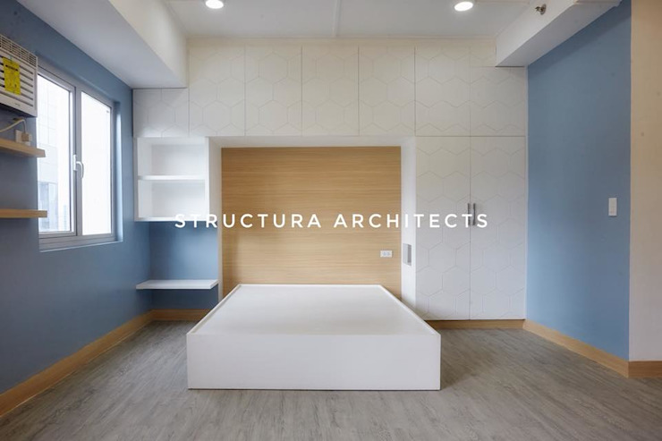 Bedroom Structura Architects Modern style bedroom