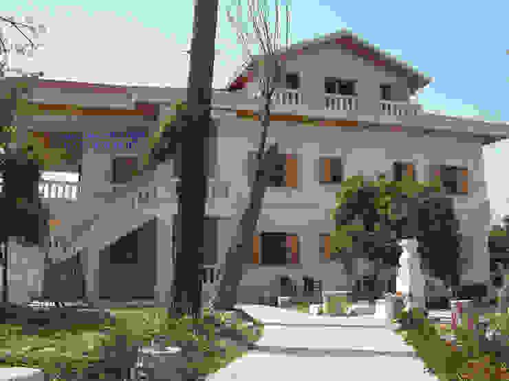 Taş Villa Modeli Taşcenter Acarlıoğlu Doğal Taş Dekorasyon Villa Taş Beyaz