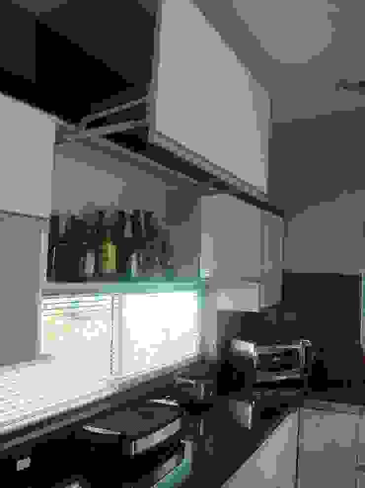 Cocina Integral alto brillo de Diseño Superior Moderno Aglomerado